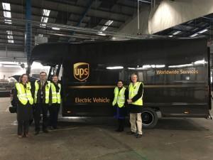IPA UPS visit