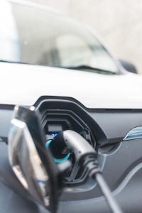 EV van charging