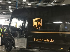 UPS vehicle 2